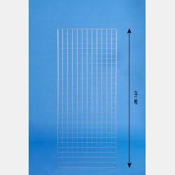 DEKOGITTER GRIP CHROME 60X140CM