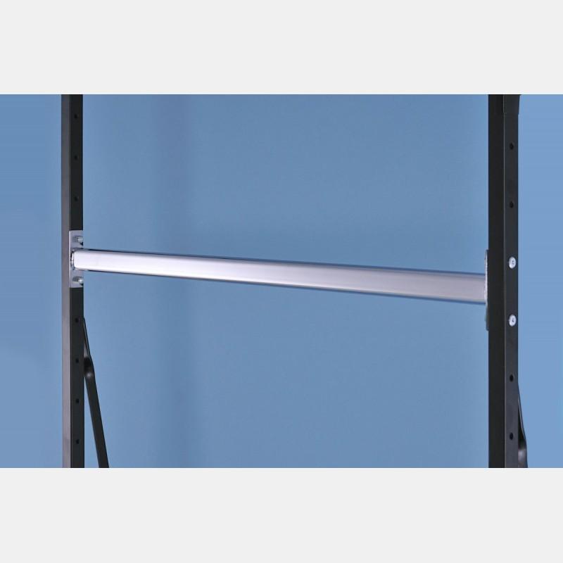 Regalsysteme Chrom kleiderstange chrome 126cm für regalsysteme iseo storeforshop
