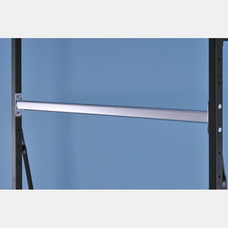kleiderstange chrome 146cm f r regalsysteme. Black Bedroom Furniture Sets. Home Design Ideas