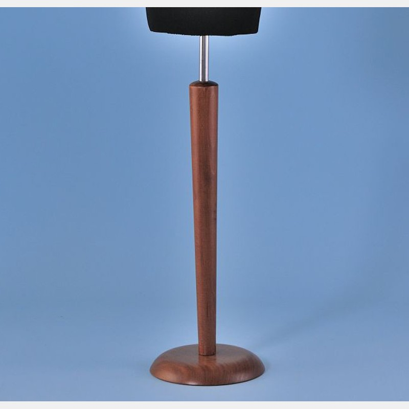 b stenst nder konisch aus holz nuss storeforshop. Black Bedroom Furniture Sets. Home Design Ideas